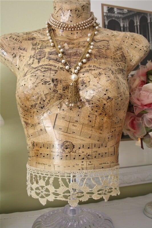 Polka Dot Dressform