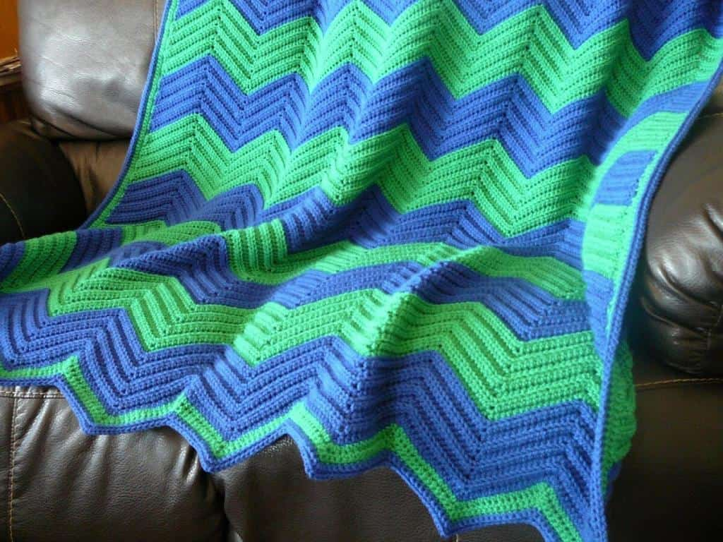 Chevron Love Car Seat Blanket