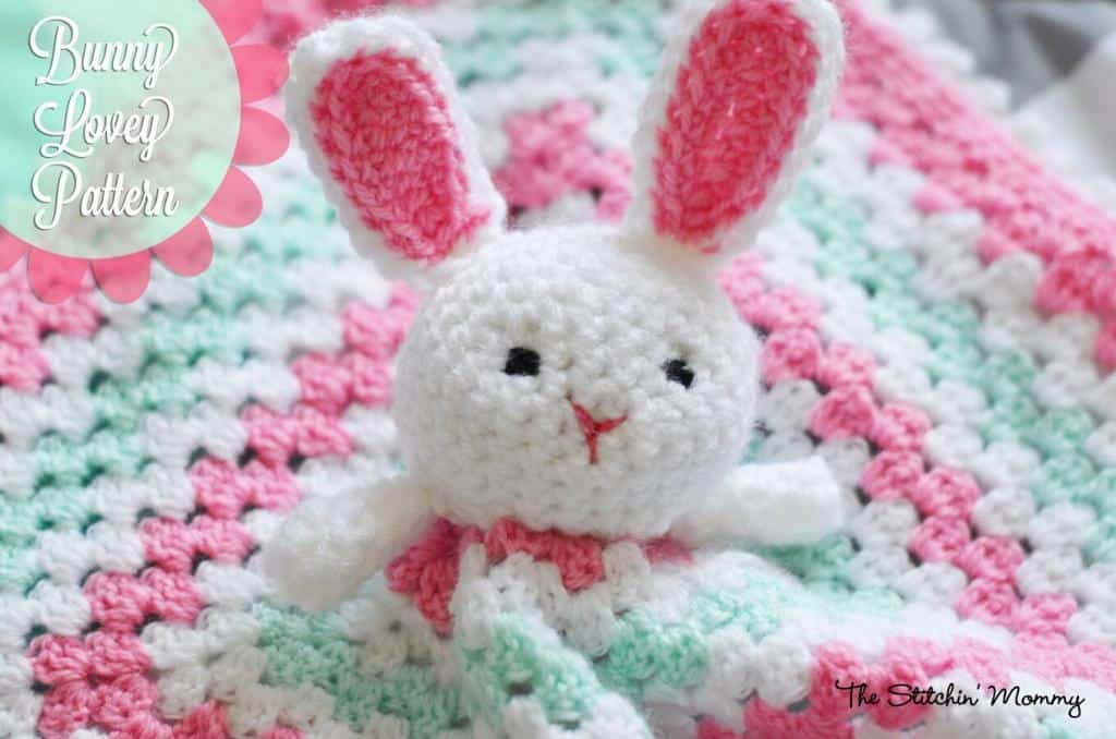 Crochet Bunny Lovey