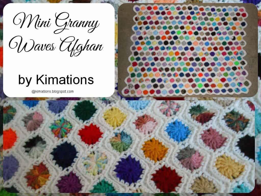 Mini Granny Waves Afghan