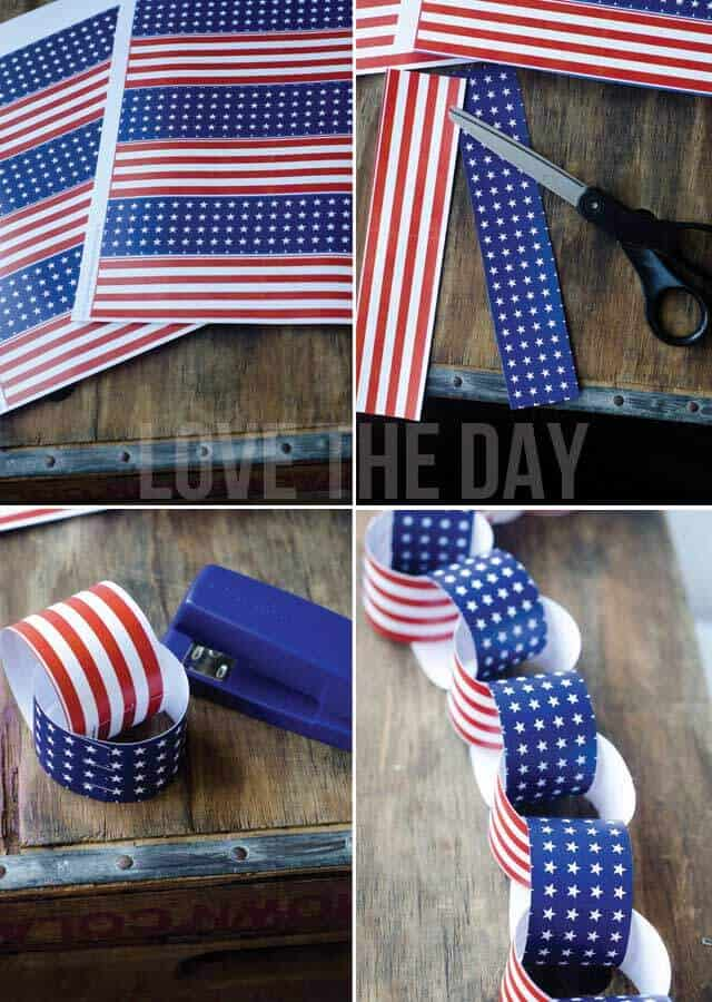 July 4th paper crafts