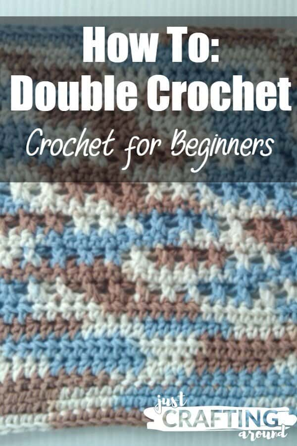 Double Crochet For Beginners