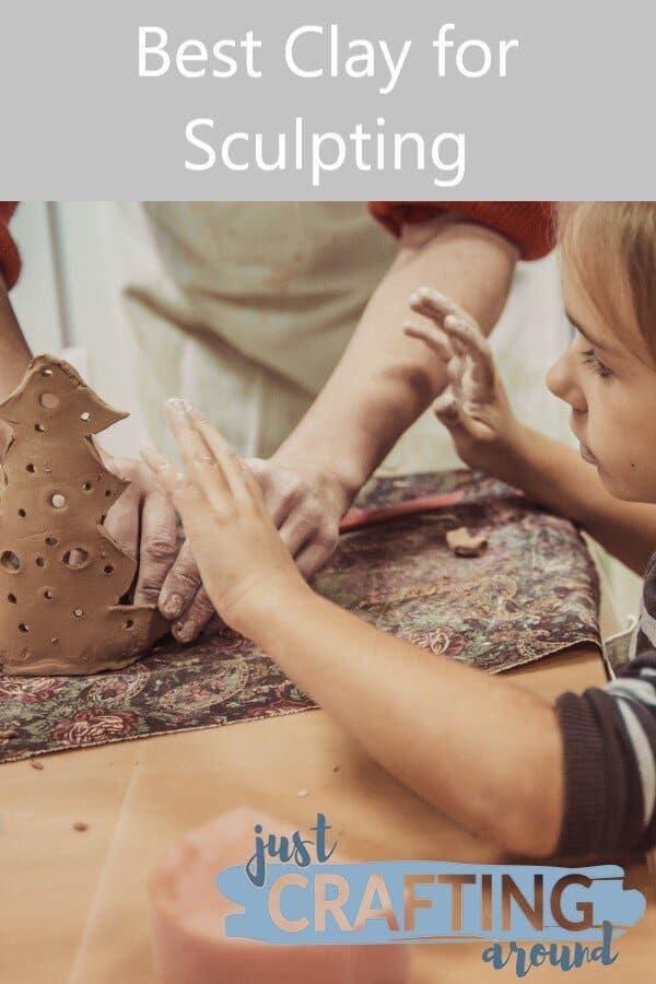 Sculpting Clay with Kid