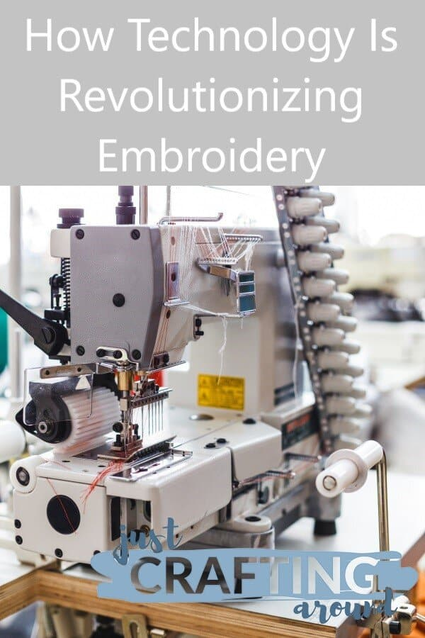 Industrial Embroidery Machine 2