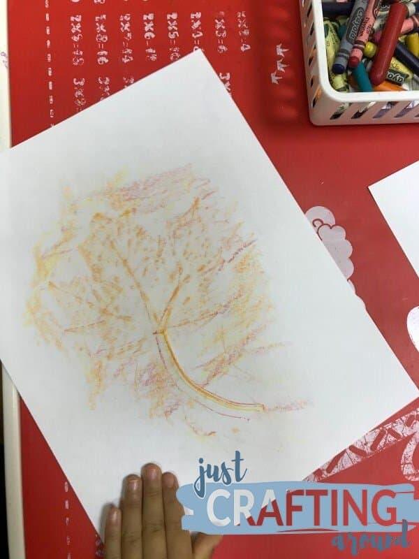 traced leaf 2