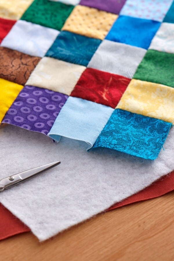 batting and fabrics for quilting