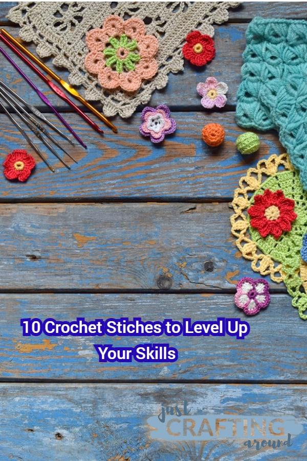 10 crochet stitches to level up your skills 1
