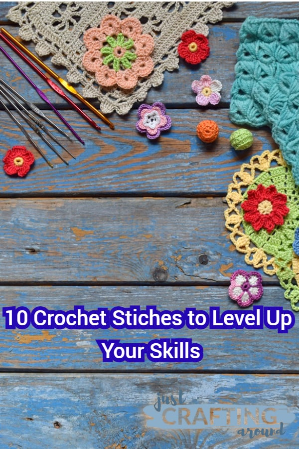 10 crochet stitches to level up your skills 2