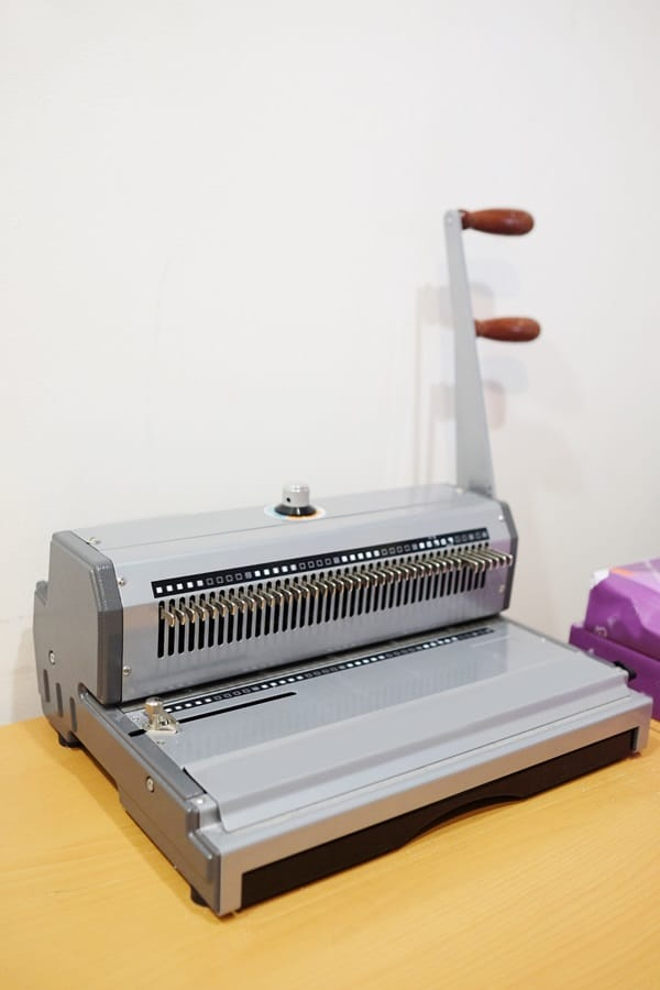 bookbinding machine
