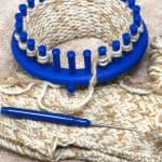 How To Make A Flat Scarf On A Round Loom