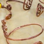 How To Make Twisted Copper Wire Bracelets