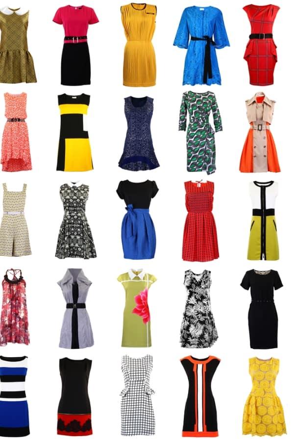 Diferent Dresses